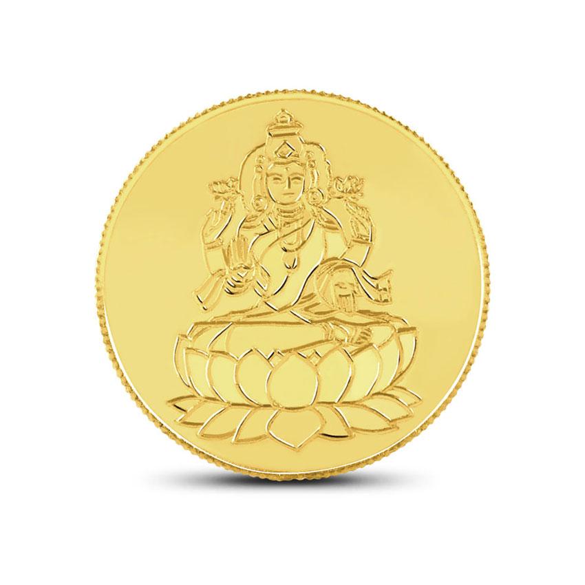 1g, 22Kt Lakshmi Gold Coin