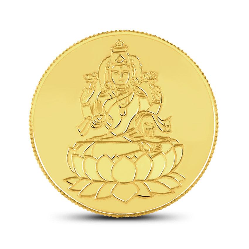 2g, 22Kt Lakshmi Gold Coin