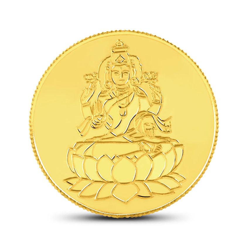 2g, 24Kt Lakshmi Gold Coin