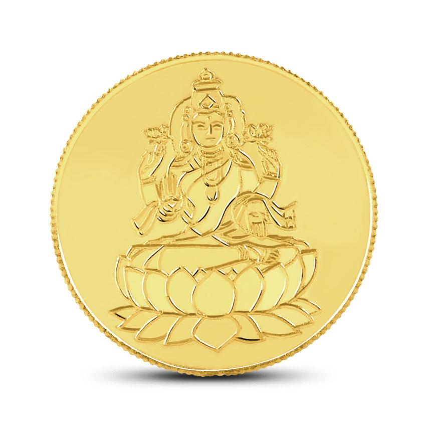 4g, 22Kt Lakshmi Gold Coin