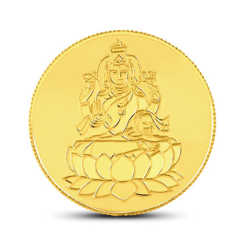 4g, 24Kt Lakshmi Gold Coin