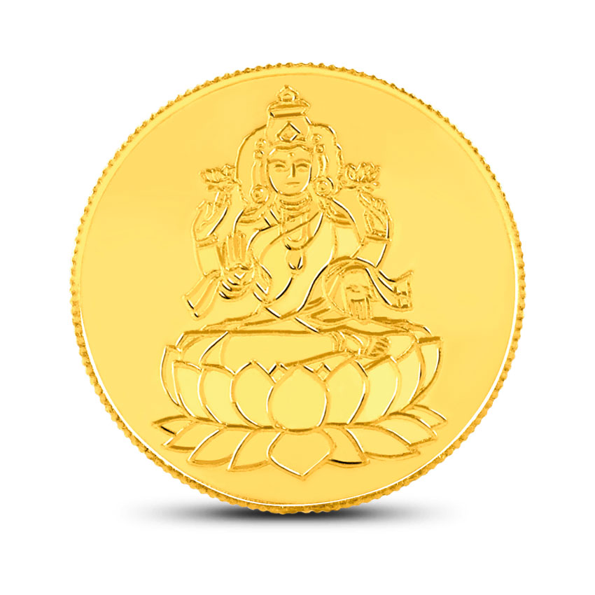 10g, 24Kt Lakshmi Gold Coin