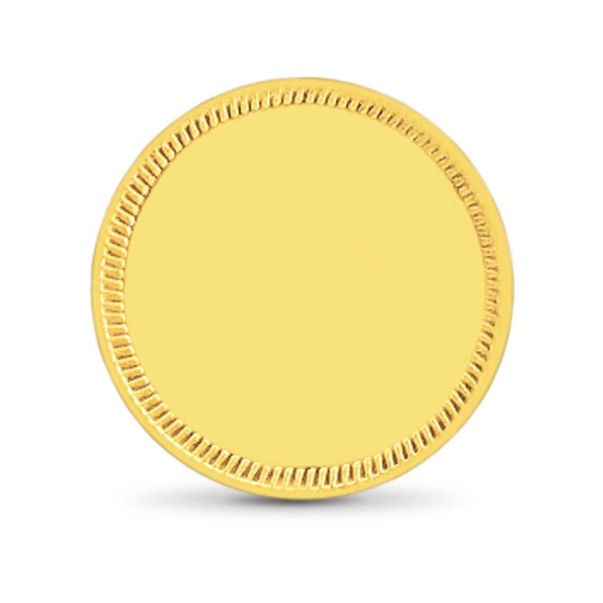 2g, 22Kt Plain Gold Coin