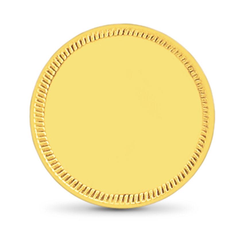 10g, 22Kt Plain Gold Coin