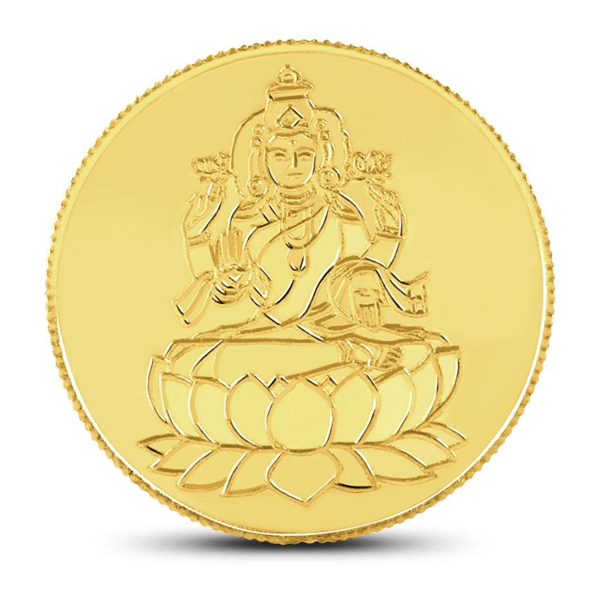 20g, 22Kt Lakshmi Gold Coin