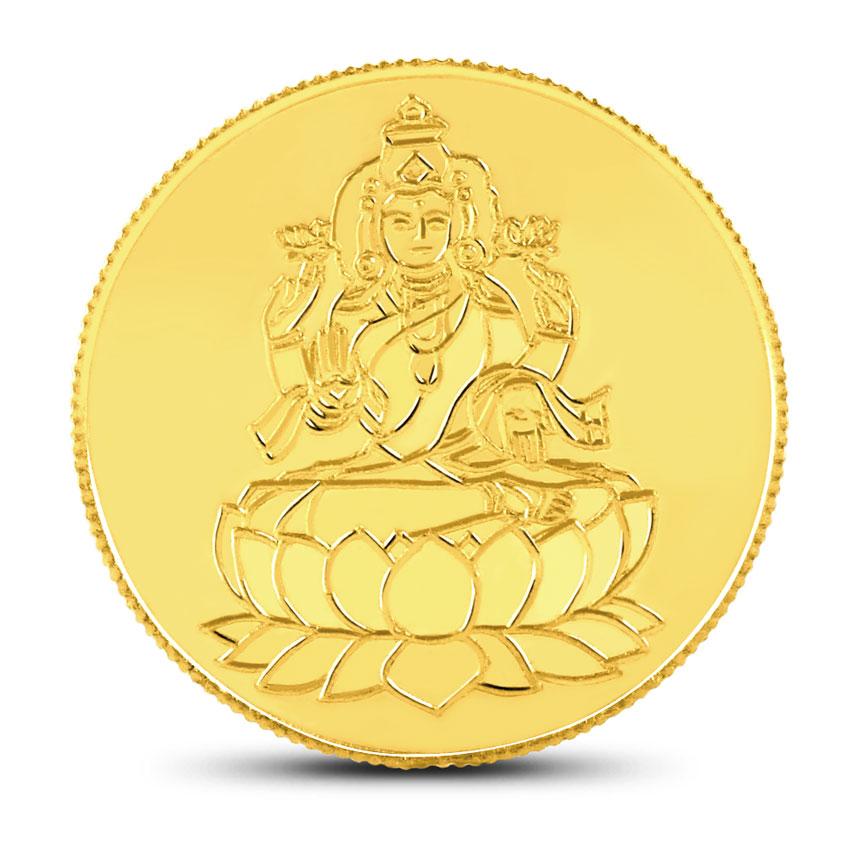 20g, 24Kt Lakshmi Gold Coin