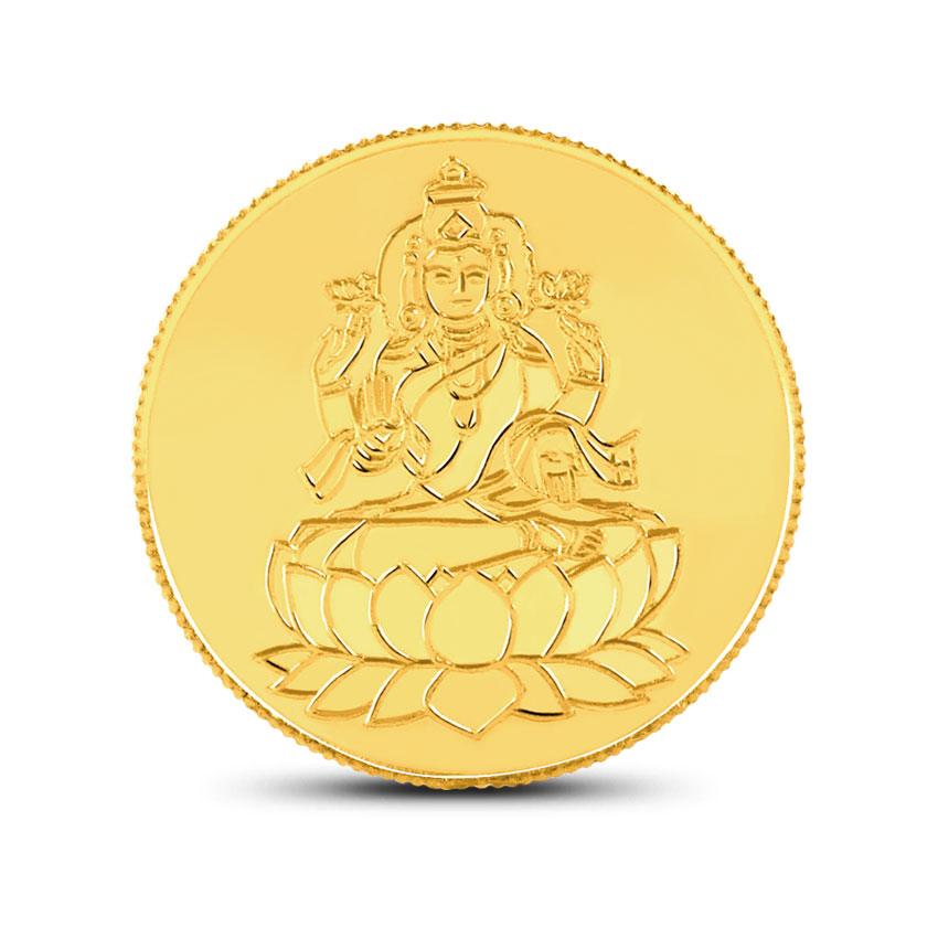 5g, 22Kt Lakshmi Gold Coin