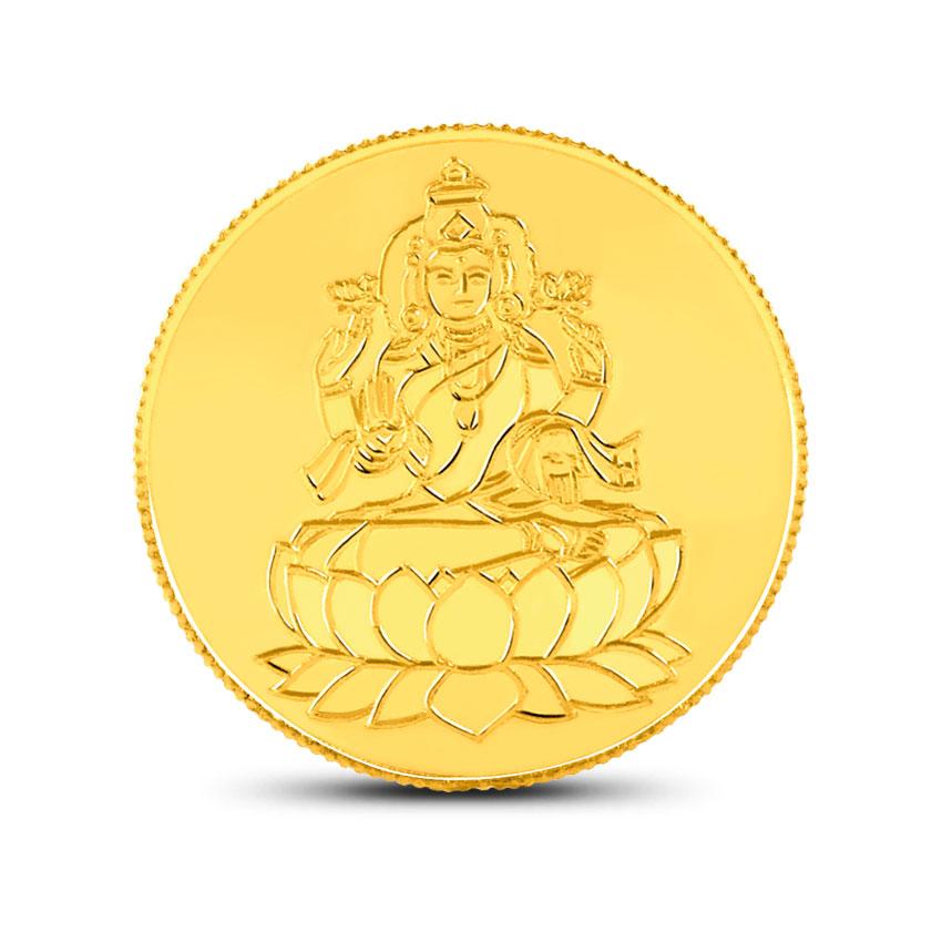 5g, 24Kt Lakshmi Gold Coin