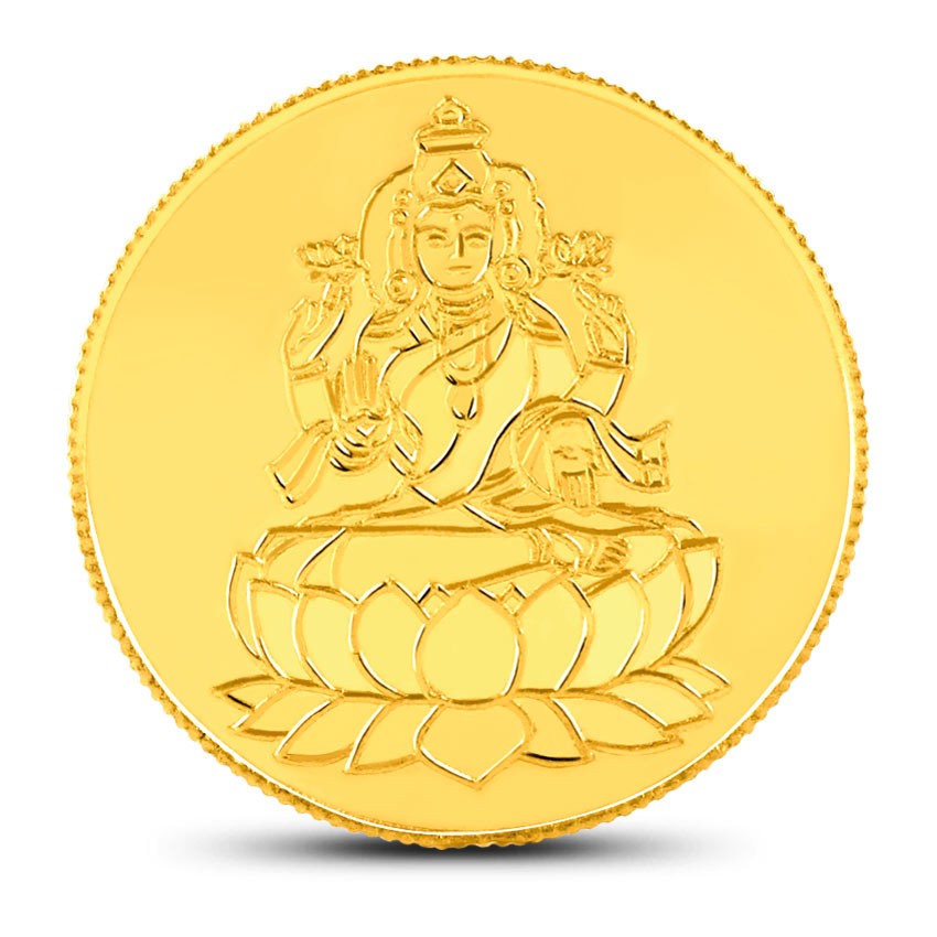 1ounce, 24Kt Lakshmi Gold Coin