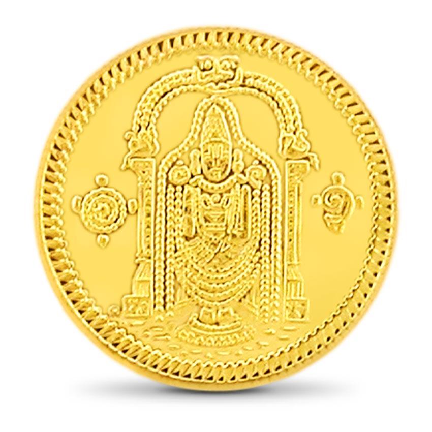 20g, 24Kt Lord Balaji Gold Coin