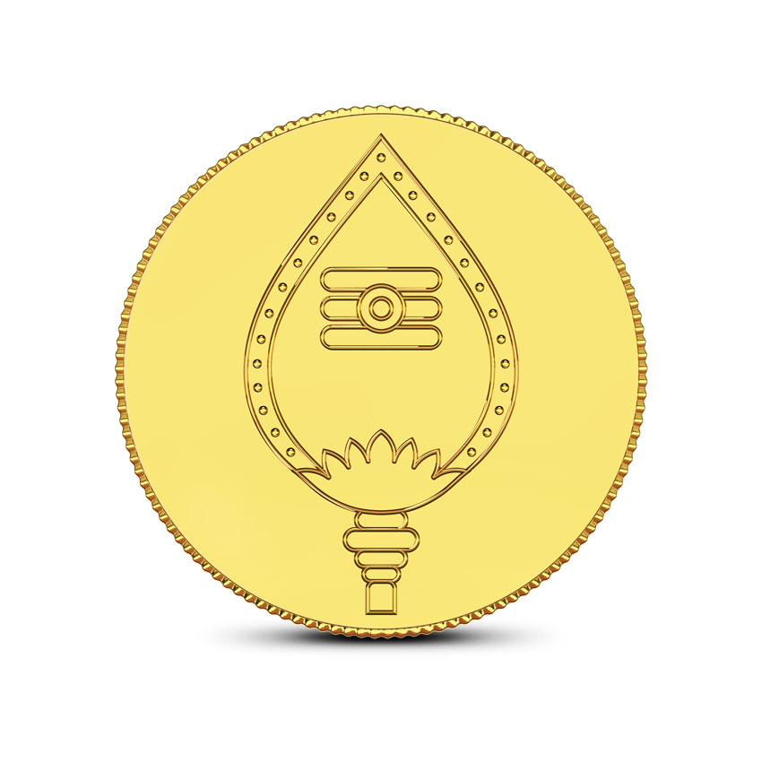 2g, 24Kt Lord Murugan Gold Coin