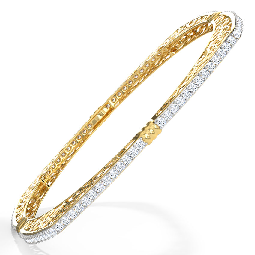 Filigree Knot Bangle