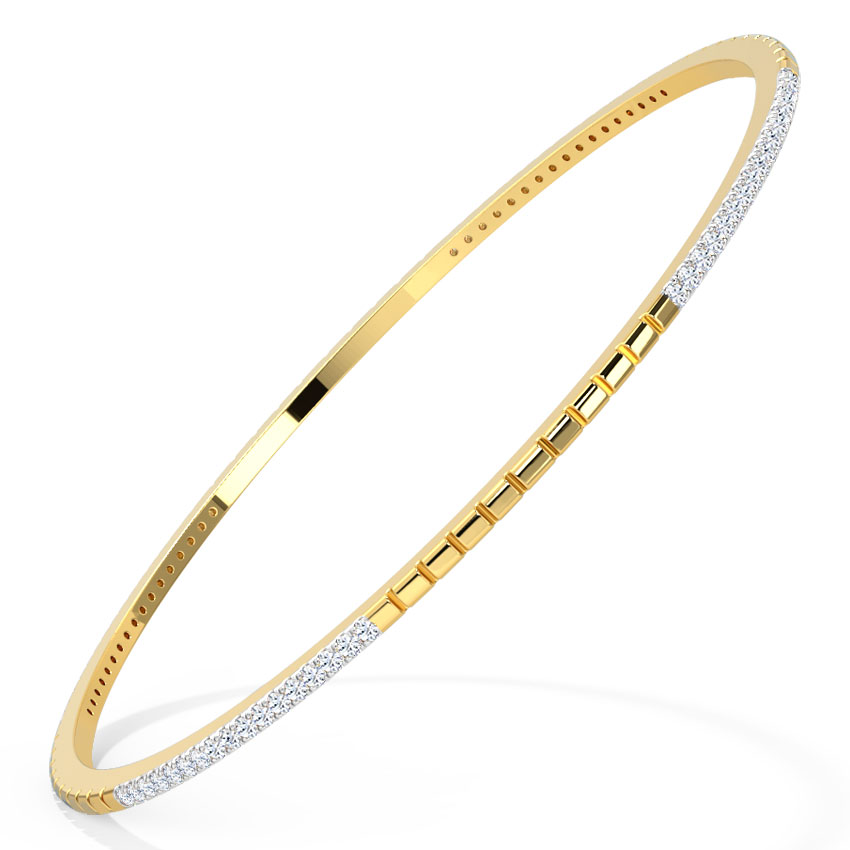Glenda Textured Bangle