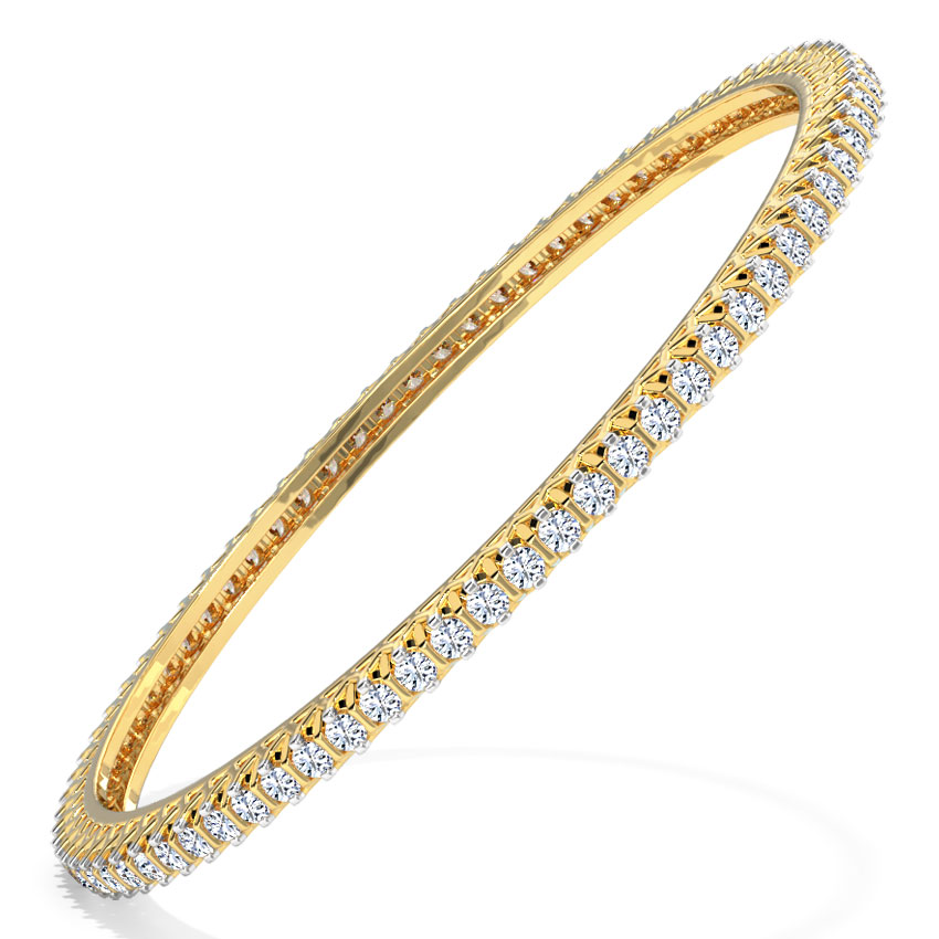 Effulgent Diamond Bangle