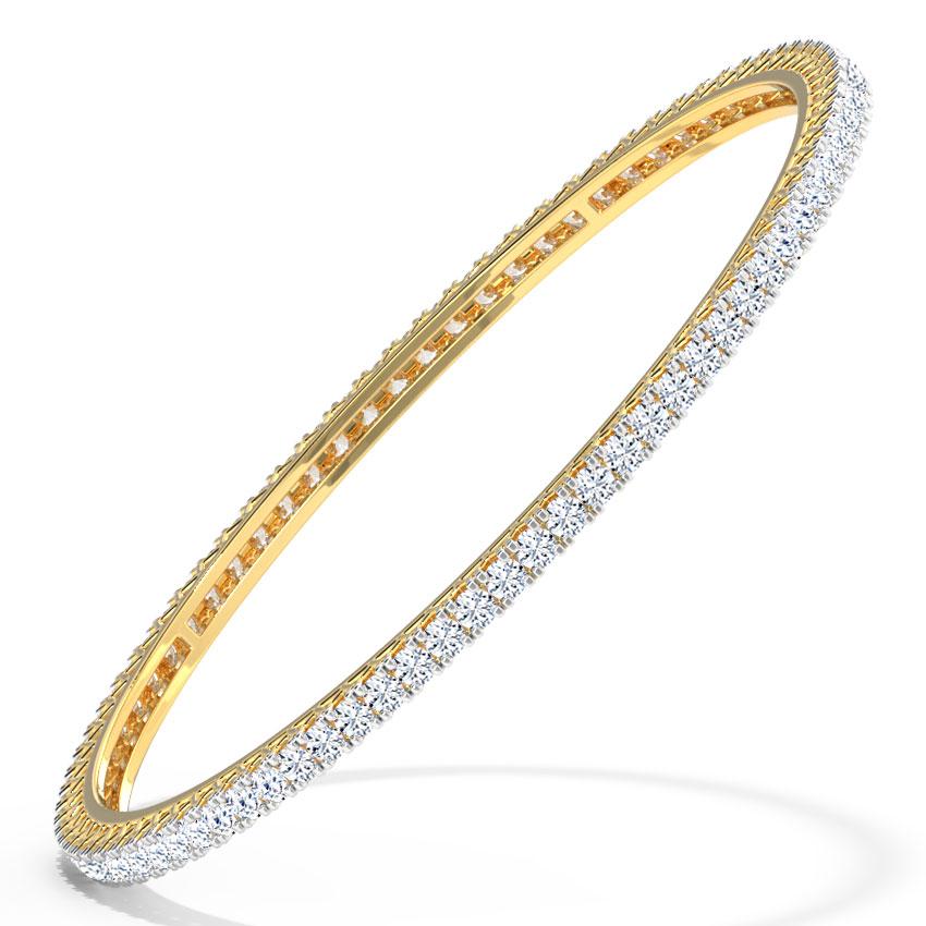 Lambent Diamond Bangle