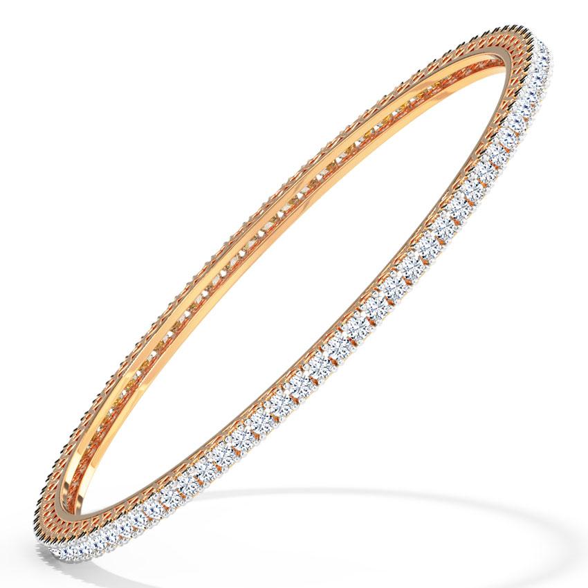 Shining Diamond Bangle