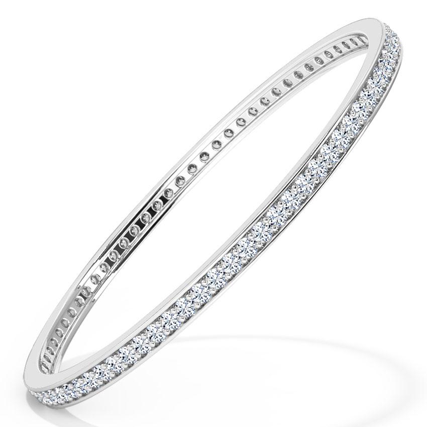 Twinkling Diamond Bangle
