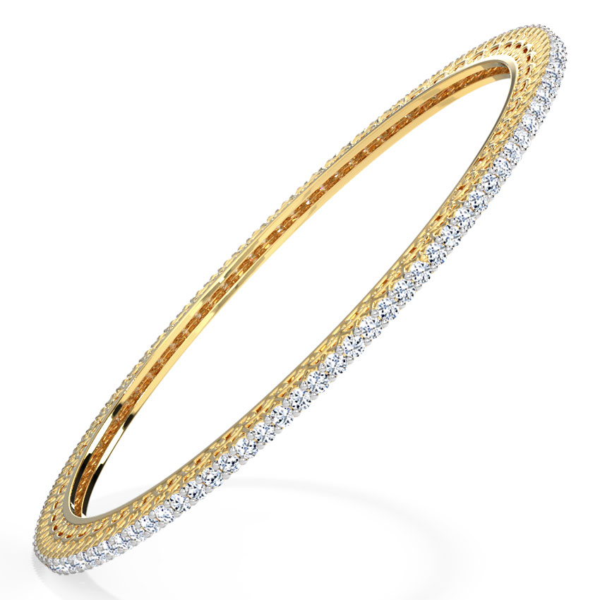 Dazzle Diamond Bangle