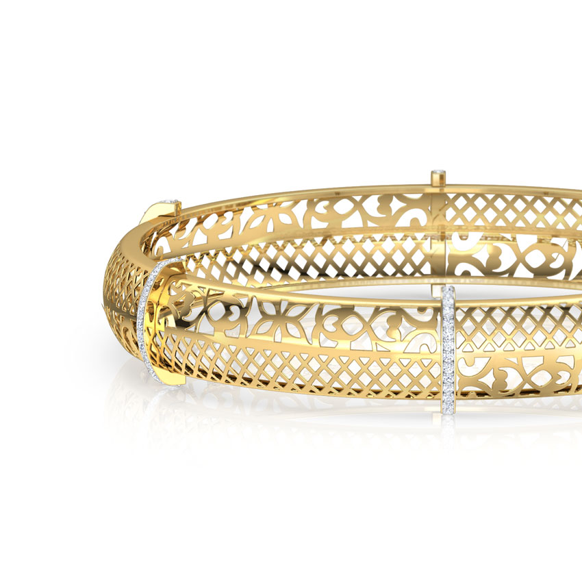 Aduna Cutwork  Bangle