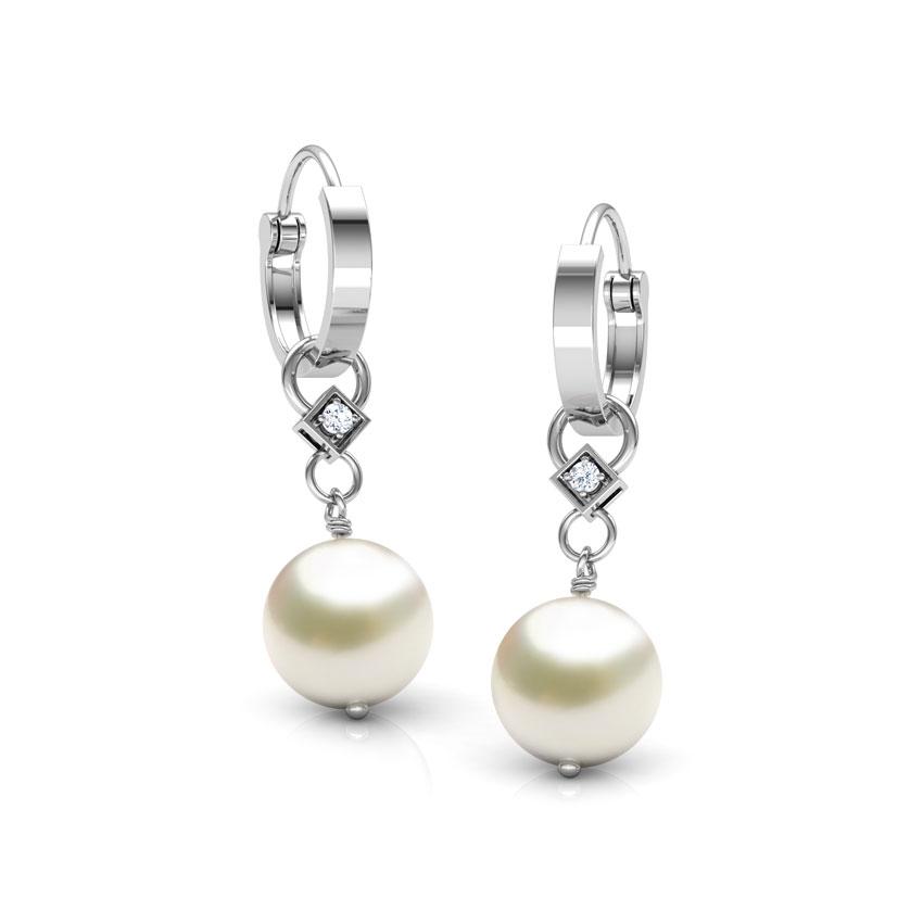 Moondrop Pearl Earrings
