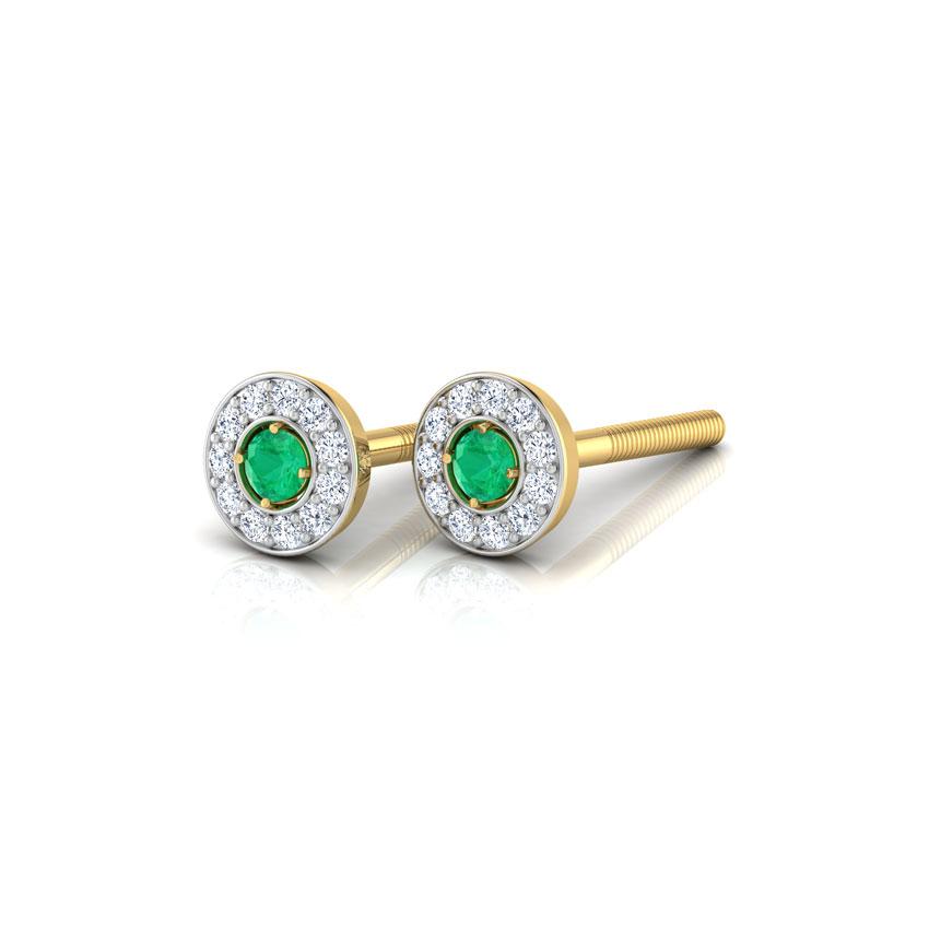 Radiance Emerald Earrings