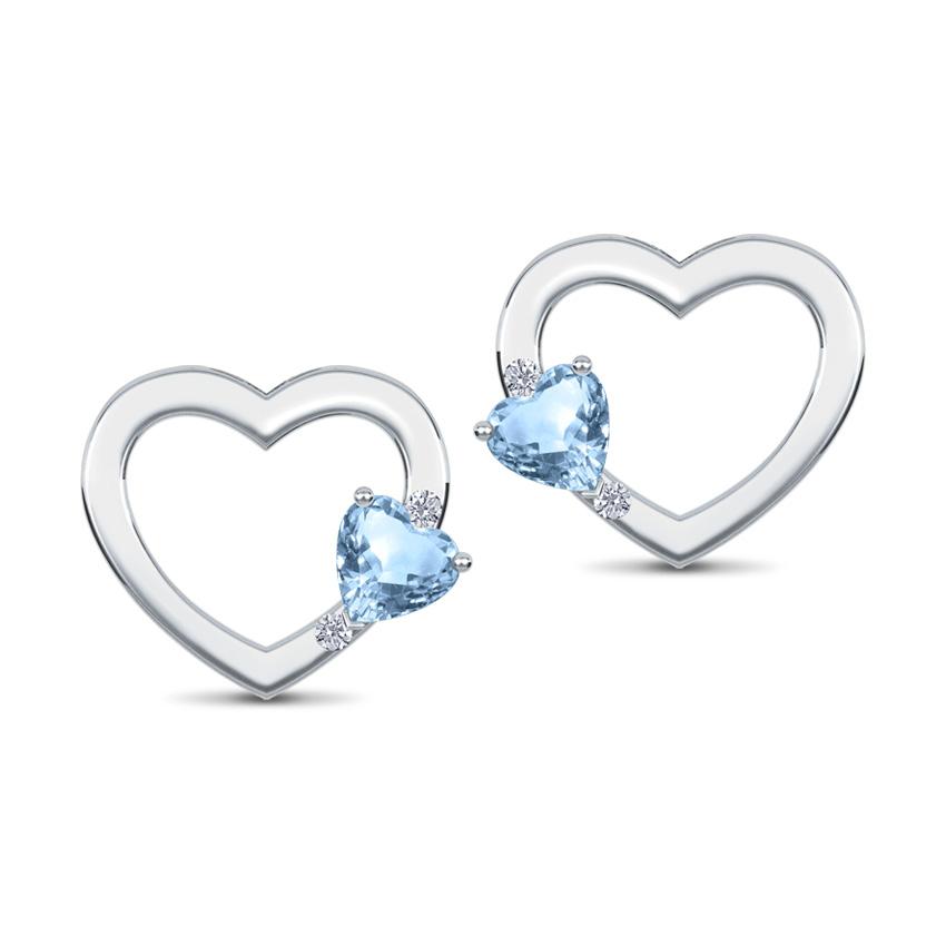 Heart Cluster Earrings