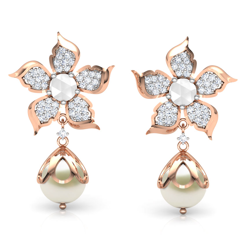 Snowdrop Pearl Earrings