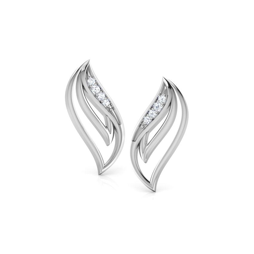 Celestial Knot Stud Earrings