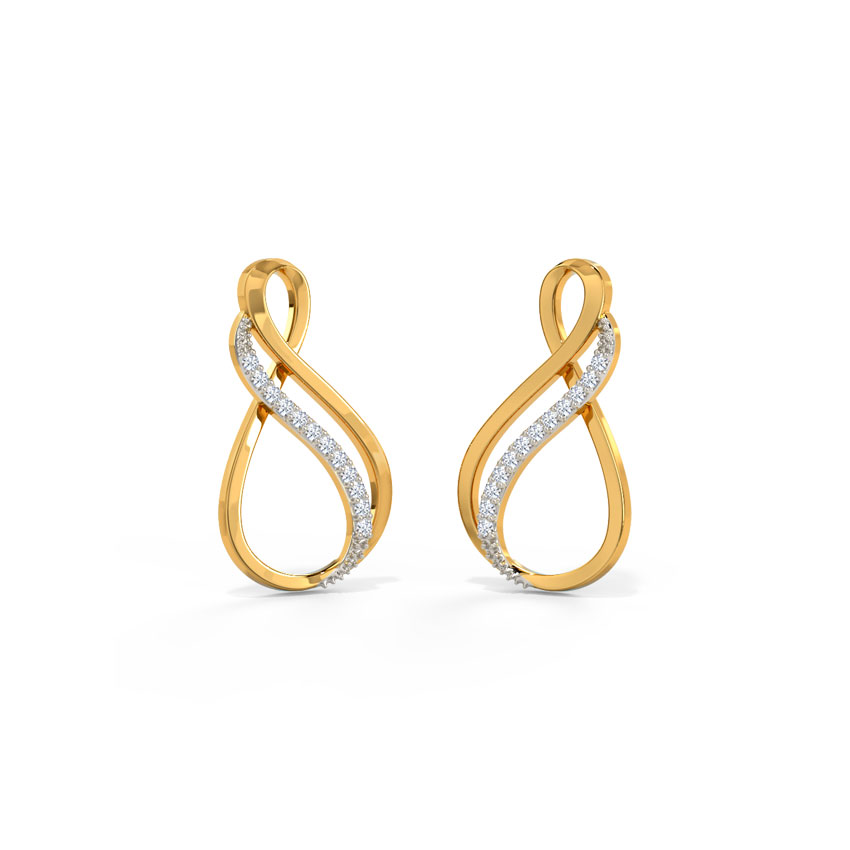 Twin Infinity Earrings