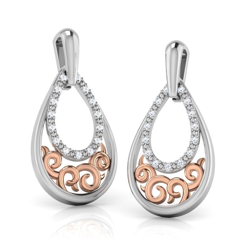 Delicate Swirl Earrings