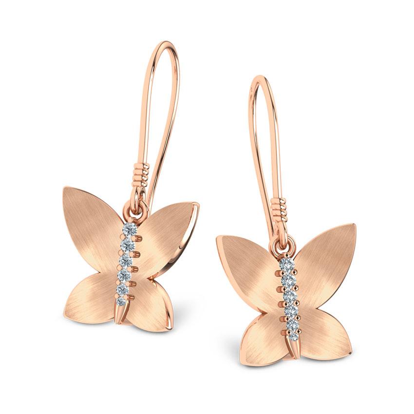 Brilliant Butterfly Earrings