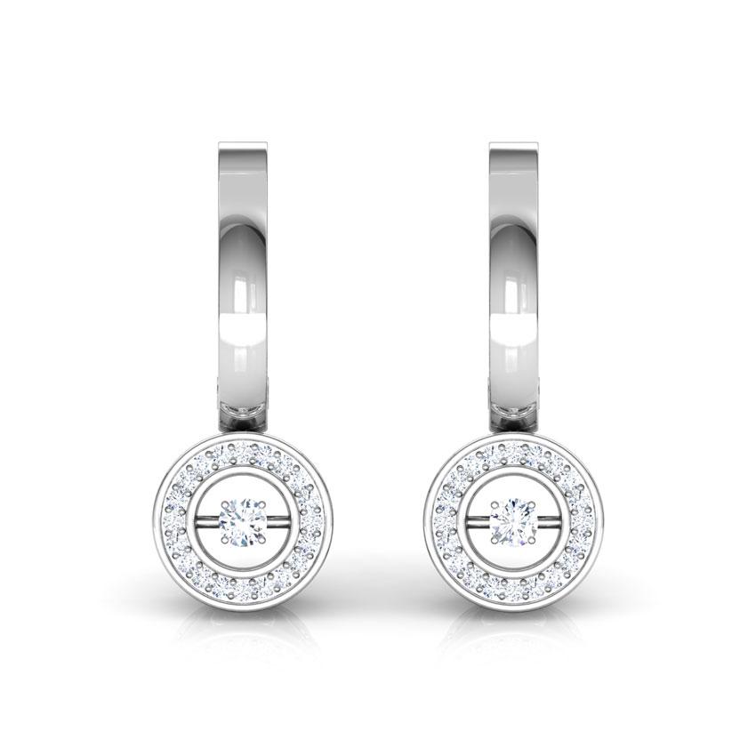 Colette Heartbeat Diamond Drop Earrings