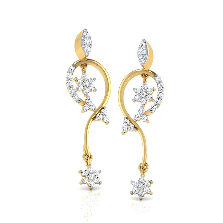 Dual Florets Earrings
