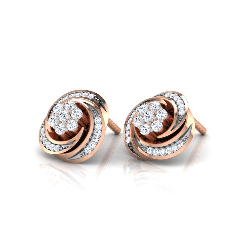 Flora Cluster Stud Earrings