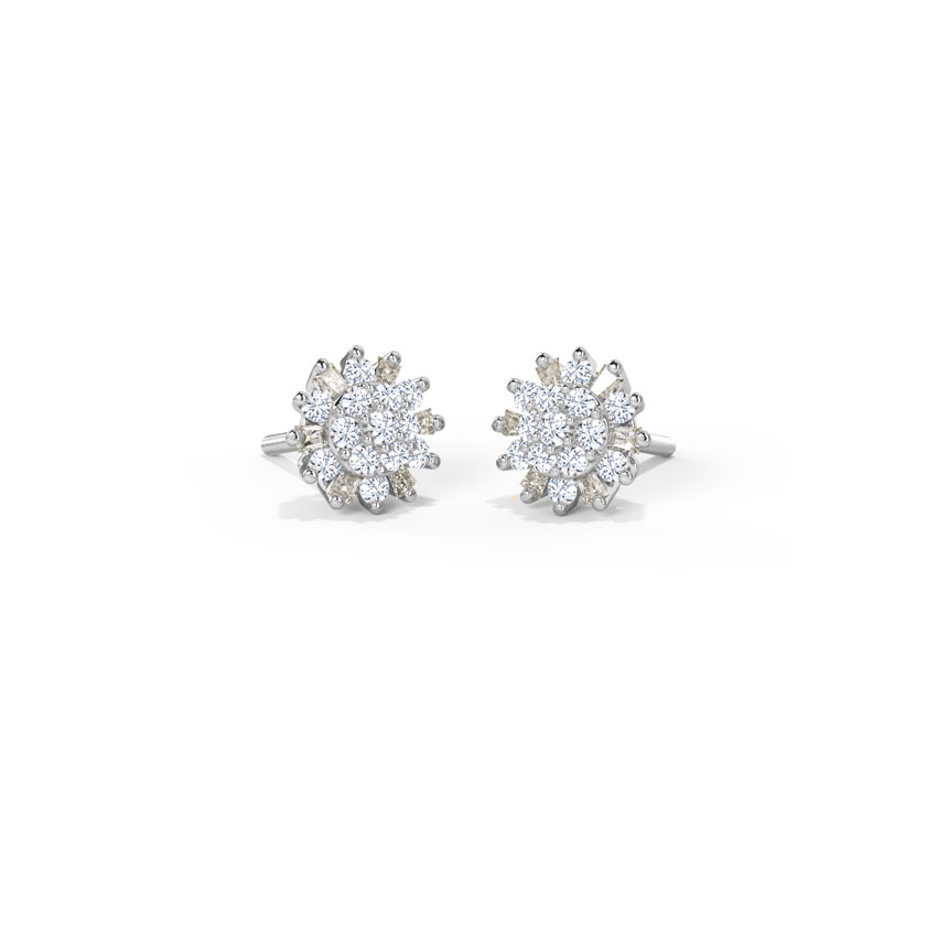 Jaze Cluster Stud Earrings