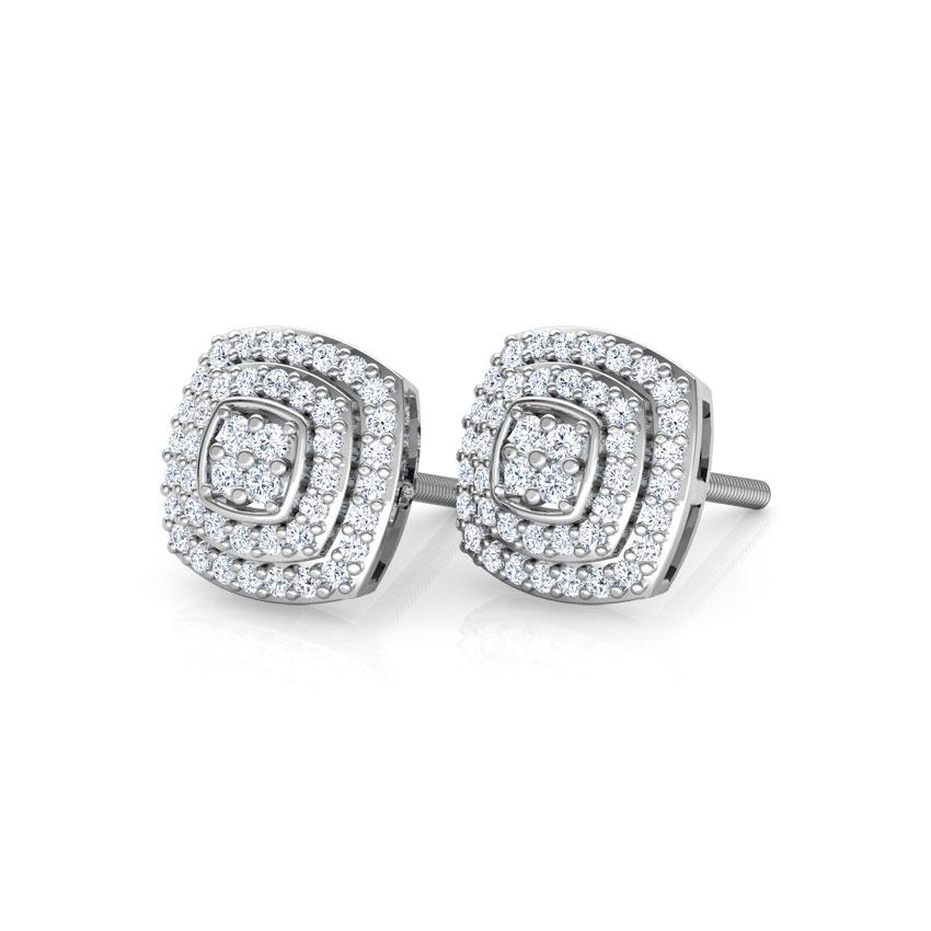 Svelte Stud Diamond Stud Earrings