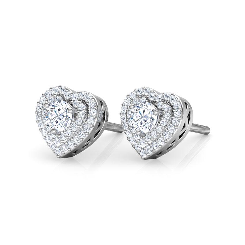 Lover's Stud Earrings