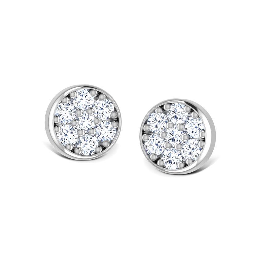 Moonlit Stud Earrings