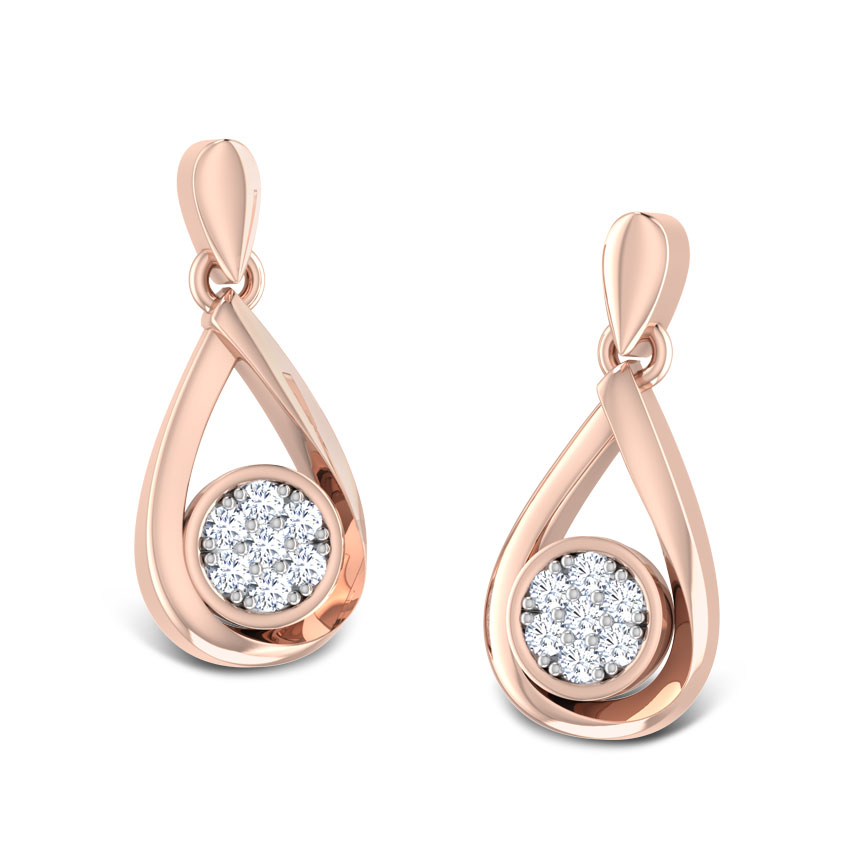 Starlet Diamond Drop Earrings