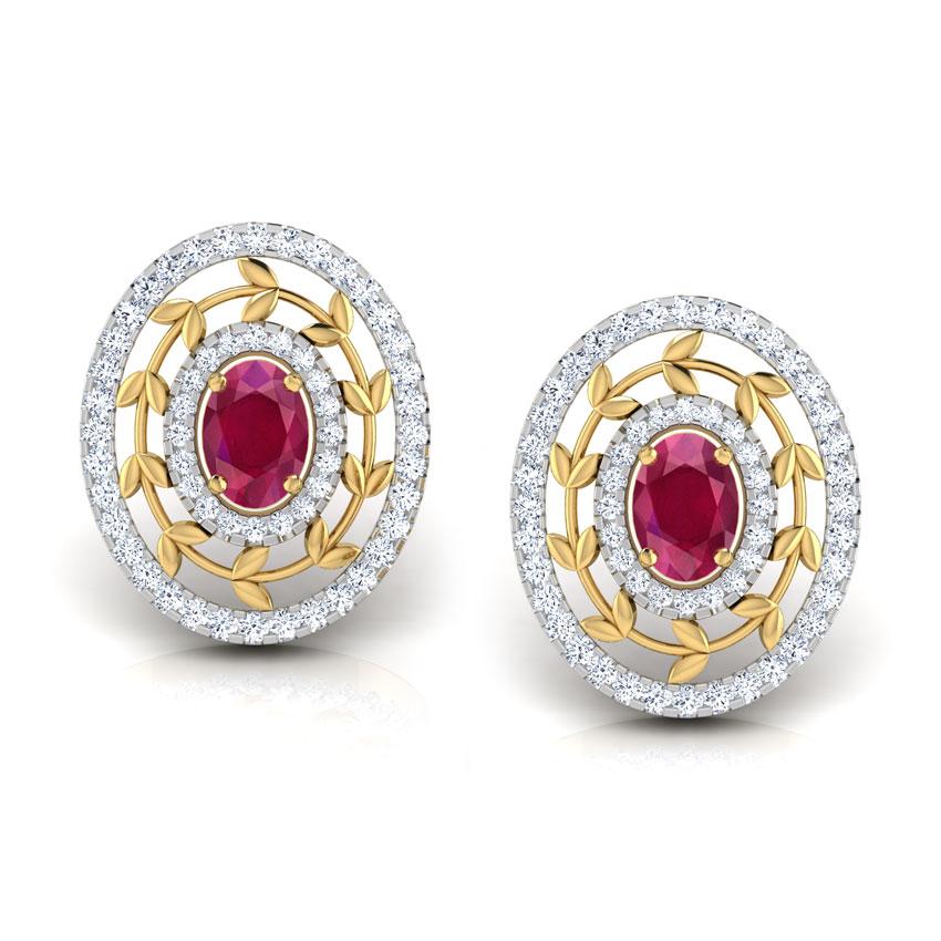 Webbed Royale Stud Earrings