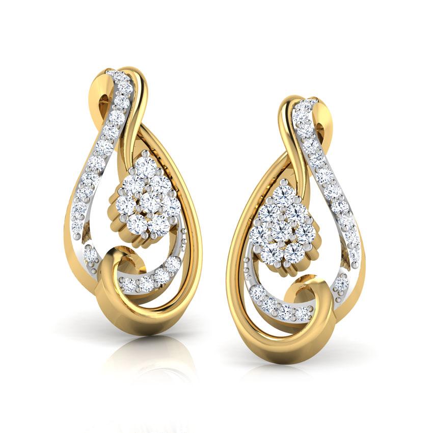 Entwine Swirl Stud Earrings
