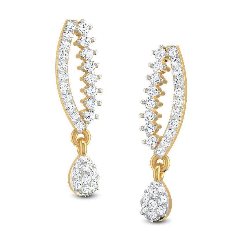 Udvaha Wavy Earrings