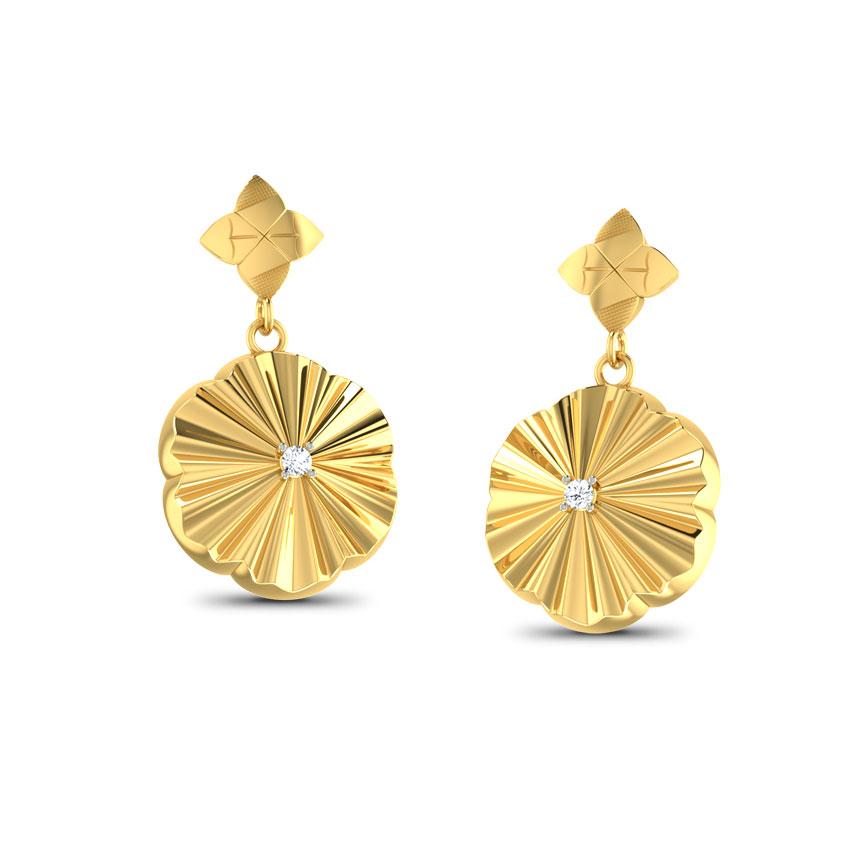 Clematis Drop Earrings