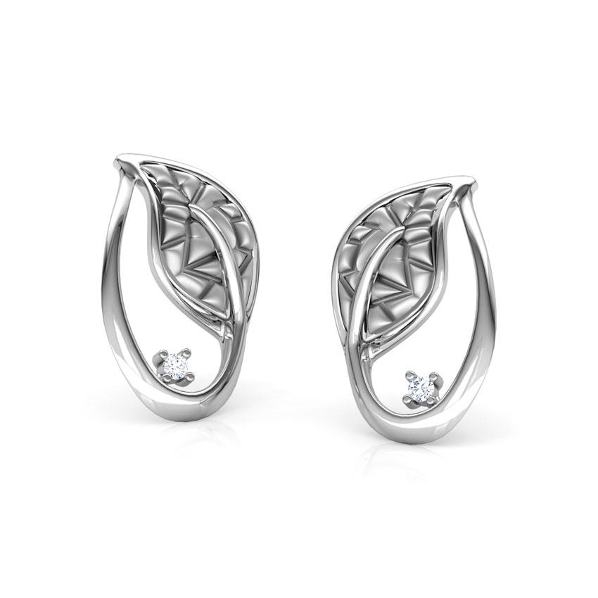 Platinum,Diamond Earrings Platinum 950 Platinum Sparks Platinum Platinum Stud Earrings
