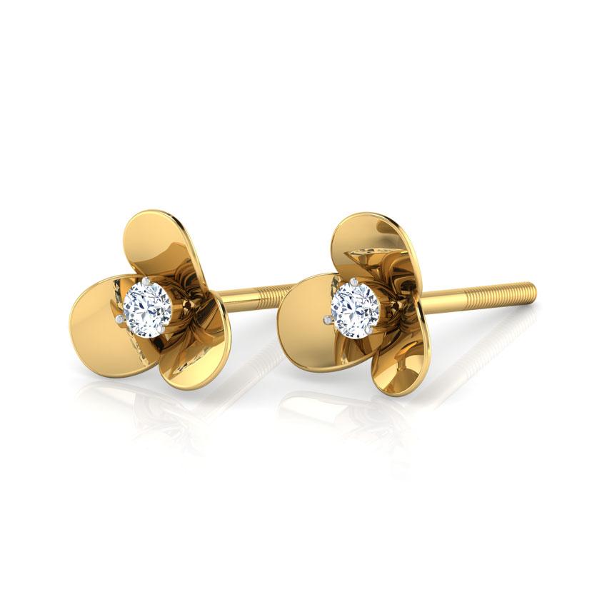 Cloverleaf Stud Earrings