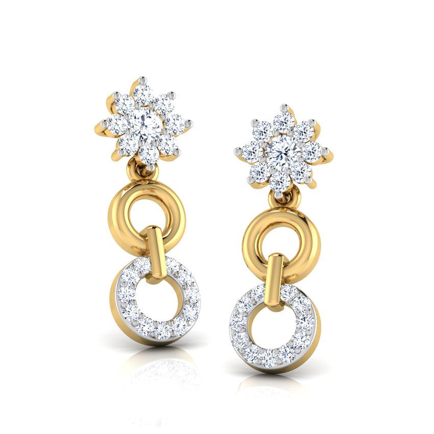 Aura Circle Earrings