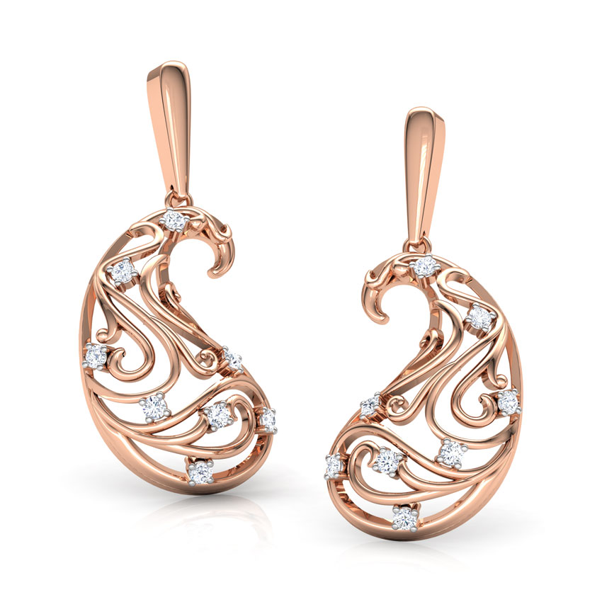 Omaira Paisley Earrings
