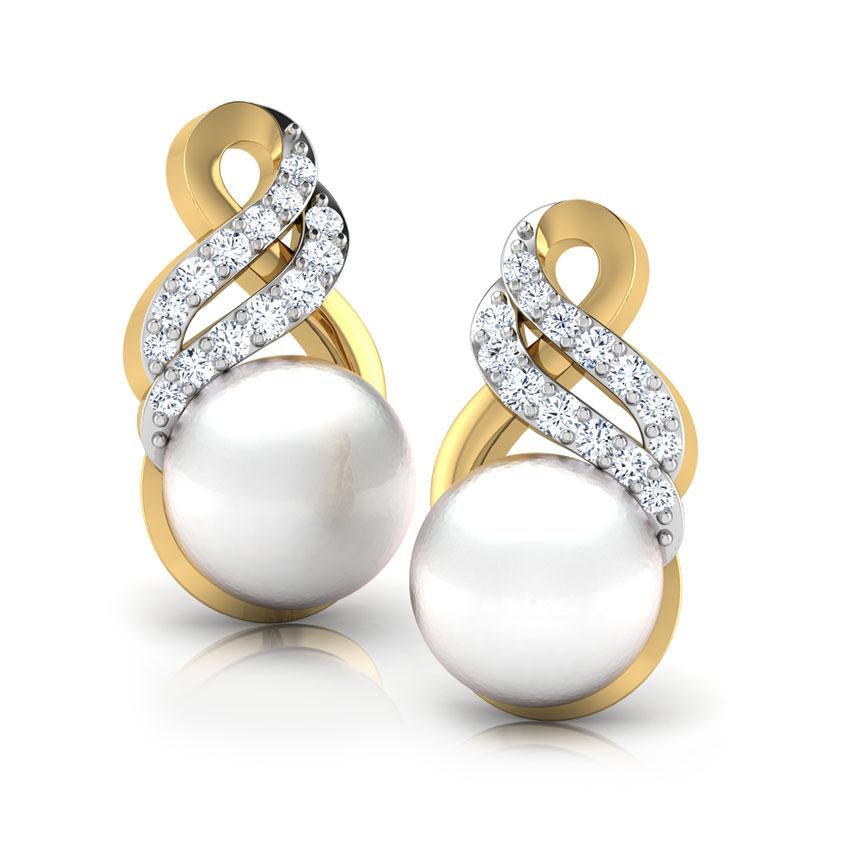 Glaze Pearl Earrings