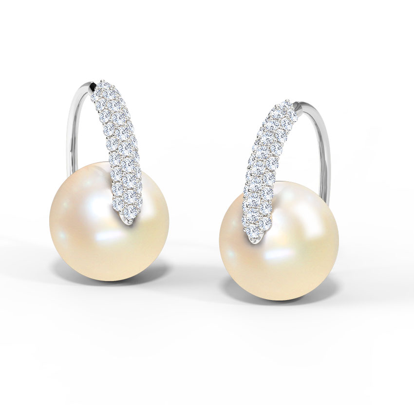 Flurry Pearl Earrings