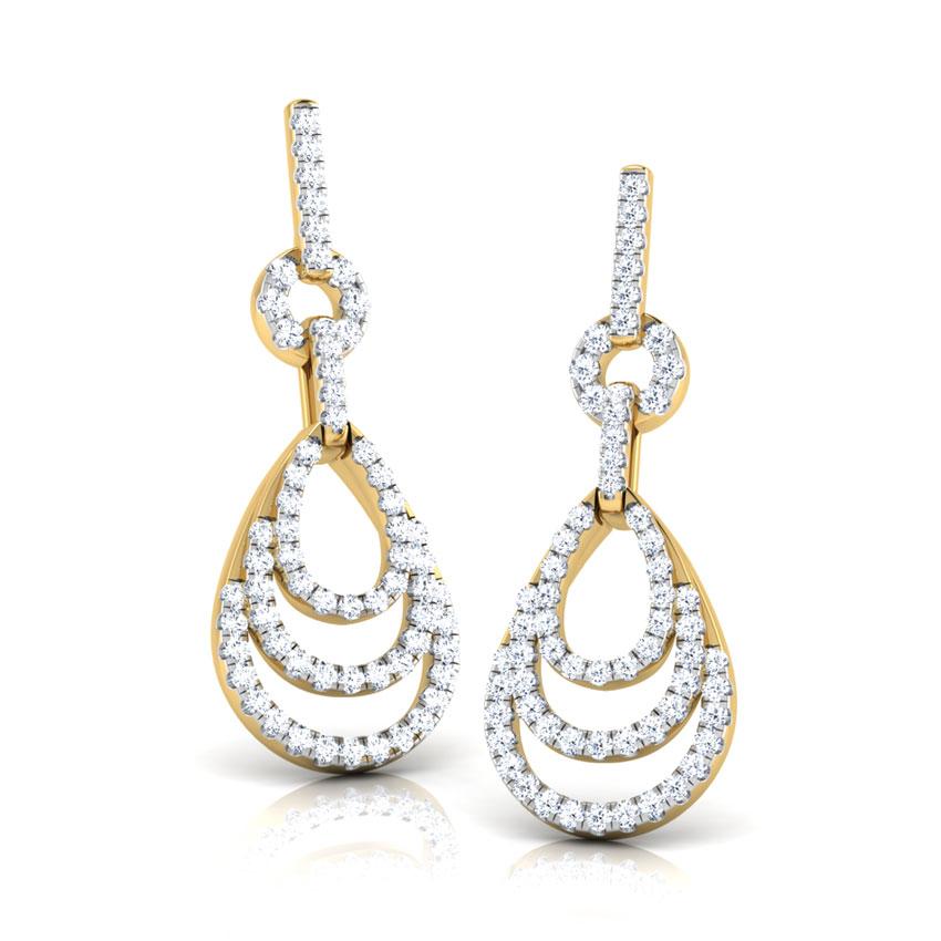 Jessy Layered Drop Earrings